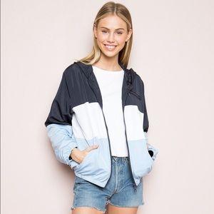 Brandy Melville Krissy Windbreaker Jacket